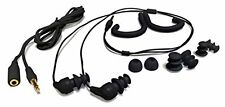 Negro Auriculares Impermeable Cable Corto SWIMBUDS