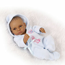 "10"" premmie reborn baby doll Anatomically Correct girl  lifelike silicone vinyl"