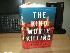 Peter Swanson - The Kind Worth Killing *Signed* 1st Girl With Clock Heart author
