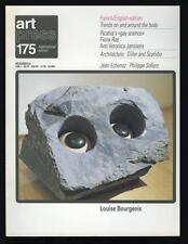 Art Press 175, December 1992, French/English Edition, Louise Bourgeois, Picabia