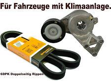 Riemenspanner + Keilrippenriemen Spanneinheit Spannrolle Spannelement VW GOLF 4