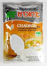 Coconut Milk Powder Mix 2-Pack 2 Oz. Chaokoh Brand No Color, or Preservative