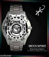 New Mazda RX7 Rotary Engine Mens Watch Sport Metal Watch