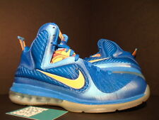 Nike Air Max LEBRON IX 9 CHINA NEPTUNE BLUE ORANGE SILVER GREY 469764-800 10