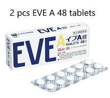 2 pcs SSP EVE A 48 Tablets Headache Medicine Painkiller Pain Relief OTC Japan
