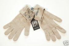 Neu Guess Herren Men Strick Handschuhe Gloves beige Gr.L UVP 29,95€ 1-16