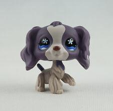 Littlest Pet Shop LPS Toys #672 Girl Gift Flowers Eyes Cocker Spaniel Dog