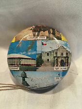 Pre-owned Vintage Collectible Tin Yo-Yo Texas The Lone Star Lithograph