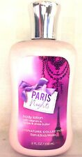 NEW PARIS NIGHTS BODY LOTION 8 FL oz FULL Bath and Body Works