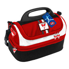 Sydney Swans AFL Lunch Box Cooler Food BAG Insulated Kids Back to School Gift