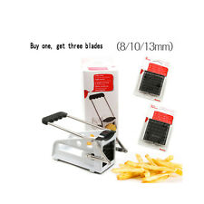 French Fries Maker French Fry Cutter Potato Strip Cutting Machine Tools 4096