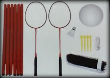 New DIG 2-in-1 Badminton and Volleyball Set with Carrying Case (17 Pieces)