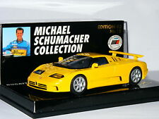 Minichamps Bugatti EB 110 Michael Schumacher Yellow MSC15 1/43