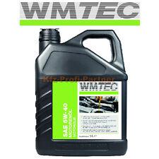 6L WMTec Aceite para motores de SAE 5W-40 VW Homologado 502 00/505 00