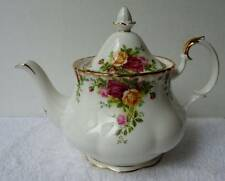 ROYAL ALBERT OLD COUNTRY ROSES BONE CHINA TEA POT ENGLAND BACK STAMP #d49