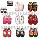 Soft Sole 100% Goat's Leather Baby Infant Toddler Shoes - 10 Different Styles