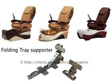 Pair Folding Tray Supporter Moon Valentine Chocolate pedicure massage spa chair