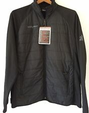 MENS ZERO XPOSUR Jacket BLACK Multisport Performance LIGHT WEIGHT Stretch LARGE