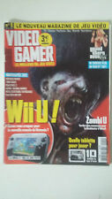 Magazine VIDEO GAMER N°1 - Janvier 2013 - ZOMBI U WII U GRAND THEFT AUTO 5