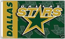 Huge High Quality 3 x 5 Dallas Stars NHL Licensed Flag - Free Shipping