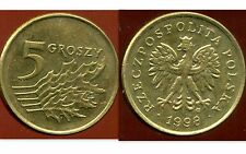 POLOGNE 5 groszy  1998  ( bis )