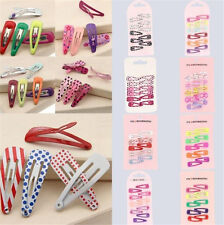 120pcs BB Clips Lovely Slides Snap Hair Accessories Girl Baby Hair Clips Jewerly