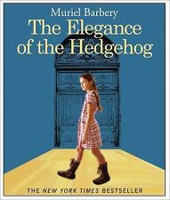 The Elegance of the Hedgehog Murie Barbery Audio Book CD NEW