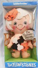 """Flintstones 1972 Knickerbocker 6 1/2"""" Rag Doll in Box Bamm-Bamm Rubble"""