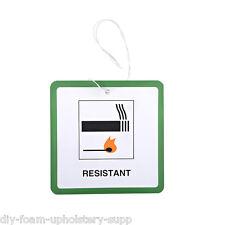 5x Muebles / Tapicería Dl7 Colgante Etiquetas * Entradas. Fuego Etiquetas De Seguridad