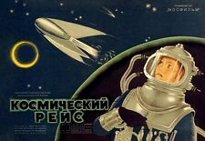 COSMIC VOYAGE 1936 RUSSIAN SOVIET SCIENCE FICTION FILM POSTER A3 RE PRINT