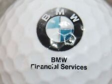 (1) BMW AUTO CAR LOGO GOLF BALL FINANCIAL SERVICES