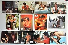 12 Photos Cinéma 21x27cm + Synopsis (1983) A BOUT DE SOUFFLE, MADE IN USA Gere