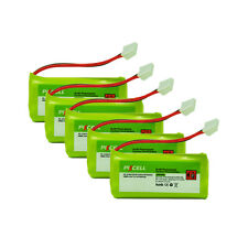 5× Cordless Phone Battery AAA*2 800mAh 2.4V For AT&T BT18433 BT28433 BT184342