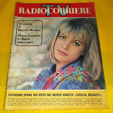 RADIOCORRIERE TV 1964 n. 45 - Catherine Spaak, Silvana Pampanini