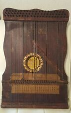 Antique Wooden Harp musical instrument Southwest Harp Co Oklahoma City McKinley