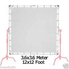 3.6x3.6m 12'x12' Sun-Scrim Butterfly Kit with Translucent 1/3 Screen Collapsible