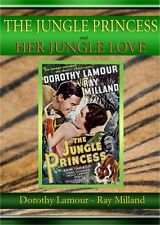 Jungle Princess & Her Jungle Love, DOUBLE FEATURE Dorothy Lamour Ray Milland DVD