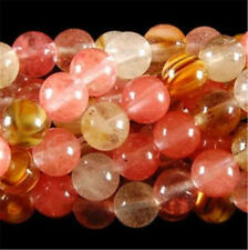 10mm Watermelon Tourmaline Gems Round loose Bead 15''