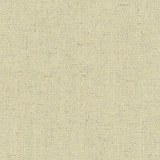 """LINEN COTTON UPHOLSTERY CURTAIN FABRIC VINTAGE SOLID NATURAL OATMEAL COLOR 54""""W"""