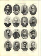 1897 Representatives Of Foreign Courts Prince Hermann Archduke Ferdinand