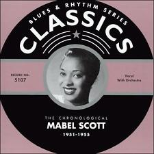 1951-1955 * by Mabel Scott-CLASSICS CD NEW