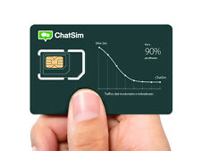 Chatsim World - Global Sim Card To Chat With Whatsapp, Telegram etc no Roaming !