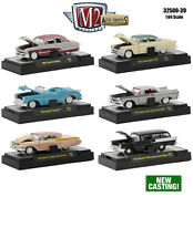 AUTO THENTICS 6 PIECE CARS SET RELEASE 39 IN CASES 1/64 M2 MACHINES 32500-39