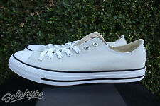 CONVERSE CHUCK TAYLOR ALL STAR OX SZ 7.5 LIGHT SURPLUS WHITE 155571F