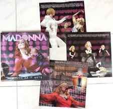 MADONNA - AS GOOD AS IT CAN GET - SUPERB RARE LIVE 2006 3 LP, COLORED VINYL
