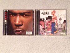 LOT OF 2 JA RULE R.U.L.E BLOOD IN MY EYE HIP HOP RAP ALBUM  CDS MUSIC CD