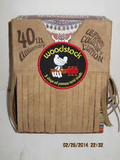 40TH ANNIVERSARY OF WOODSTOCK - ULTIMATE  EDITION-LOW SN, FREE SHIPPING-NIB!!!