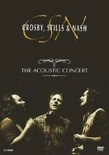 "STILLS & NASH CROSBY ""THE ACOUSTIC CONCERT"" DVD NEU"