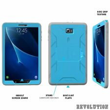 POETIC Revolution w/ Built-In Screen Case for Samsung Galaxy Tab A 10.1 Blue