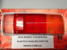 """ALFA ROMEO 1750 BERLINA PLASTICA  FANALINO POSTERIORE DESTRO """"CARELLO"""""""